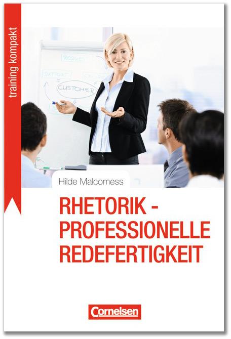 Rhetorik - Professionelle Redefertigkeit - Buchcover